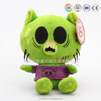 Colorful and cute plush cat toy dolls & plush cat pattern