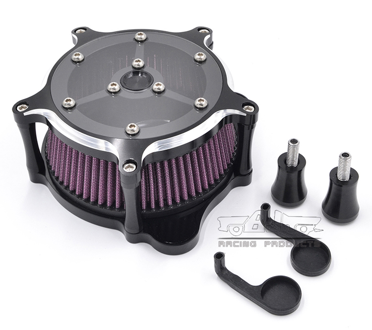 BJ-AC-012 Aluminum Motorcycle Road Glide Air Cleaner for Harley Touring Road King 2008-2016