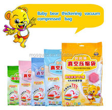 75% Space Saved BABY BERA Vacuum Compressed Bag With Air Pump