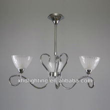 artistic glass chandelier pendant lamp/ hotel decorative glass ceiling lamp XD8529-3P