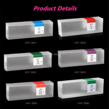 PP plastic tea package box with handle tea gift box