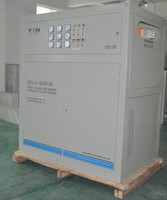 SBW-F 400KVA Compensated / Independent Type Three Phase Servo Motor Control AC Automatic Voltage Regulator / Voltage Stabilizer