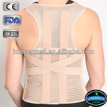 C1CLPO-1601 Back Support Brace with Steel to Correct Posture/Low Back Pain Relief Belt