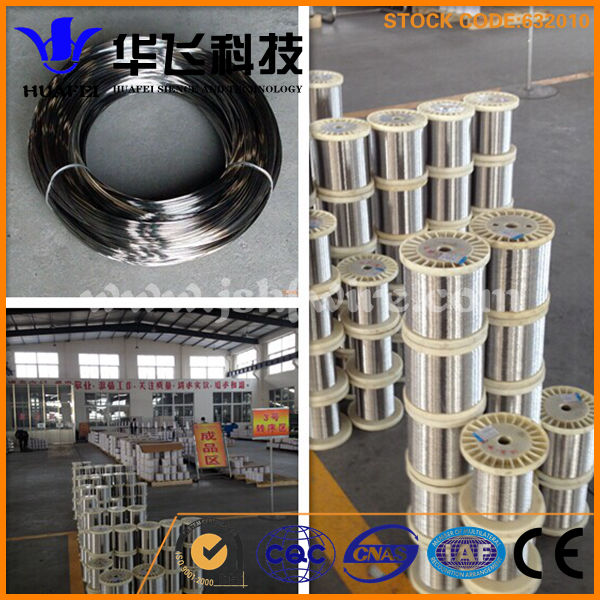 ss wire astm a580 0.11mm-2.00mm