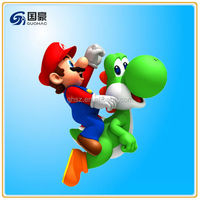 Online game super mario 2 figure 3d model