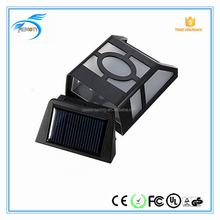 1.2v ABS solar powered led outdoor wall lights led solar fence light