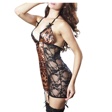 Factory Wholesale Sexy Women Black Sheer Mesh Lace Sexy Transparent Lingeries