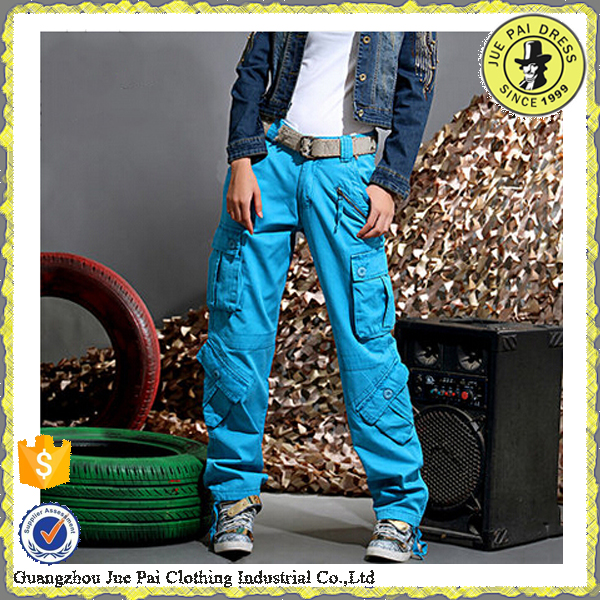 Wholesale cargo pants for girls