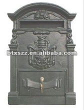 cast aluminum wall mounted mailbox