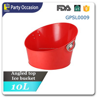 Galvanized metal Tilt wine Bucket GPSL0009