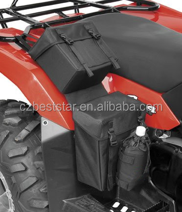 ATV hanging bag Zipper-less Fender Bag - Black