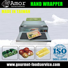Natural-can-eat film hand wrapping machine for fruit