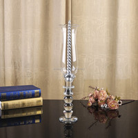 Home accessories candlesticks European style glass crafts bar color mosaic candle holder