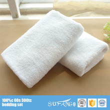 cheap 100% cotton plain white hotel cotton tea towels