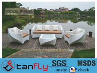 latest design hot sale good quality rattan outdoor furniture garden sofa