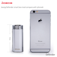 Alibaba express vapor mod Joecig Defender 36 W heatvape box mod with stainless steel main body
