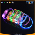 Brighting and Safety LED Lights Silicome Up Wristband for Runners TZ-W230