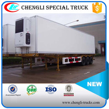 SHOCK PRICE 50 TON LOADING 3 AXLE refrigerated cargo trailer