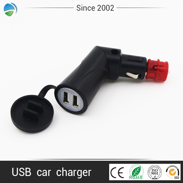 Yeming micro usb plastic parts mobile car charger for sony xperia