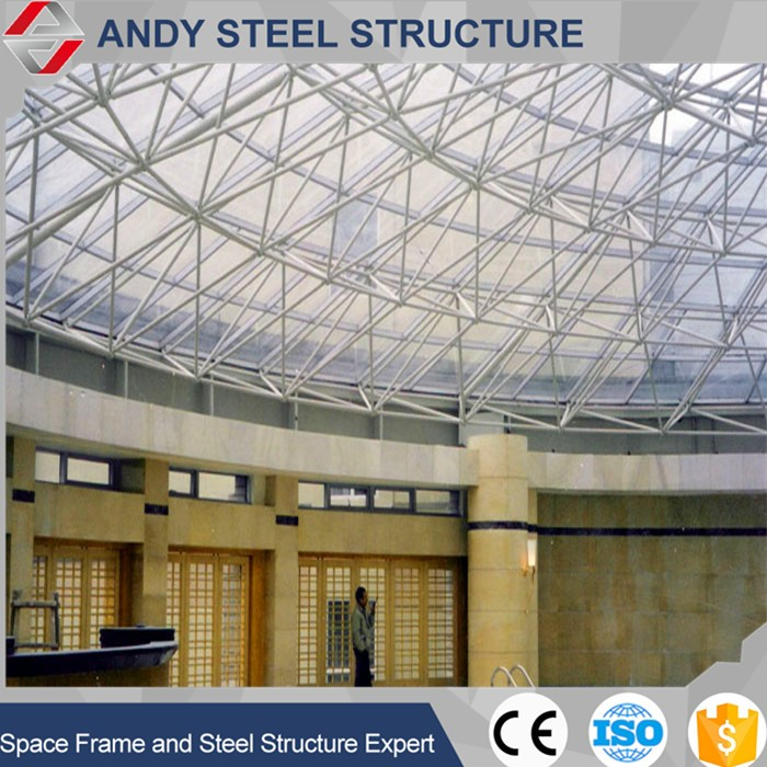 Good price Steel Structre Large Span steel space frame roof