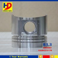 B3.3 Piston Diesel Engine Forged Piston With Pin