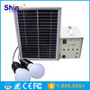 5w-100w solar power lighting system / solar system for home with LED lamp solar panel