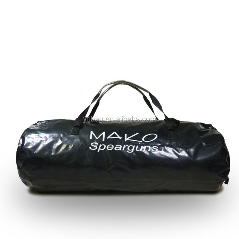 100L foldable accept customer size with Black color waterproof outdoor sport hiking duffel travel bag