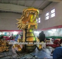 Animal Inflatable/inflatable Golden dragon Y-046