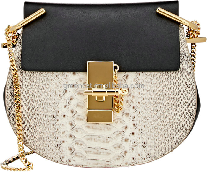 2015 noble women trendy fabric snake pattern original designer no name celebrity crossbody bag FA073