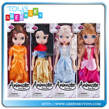 latest china 9''DOLL dress up games for girls sex music doll