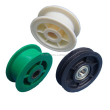professional custom manufacture plastic nylon conveyor pulley