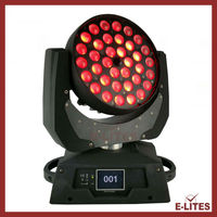 mac studio wash moving head, led lighting zoom, 36x18watt led stage light, moving head 6in1
