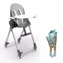 2018 New Foldable Baby Highchair Aluminum Dining Chair Germany Design Baby High Chair