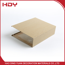 Aluminum Interior Wall Building Construction Materials For Shopping Malls