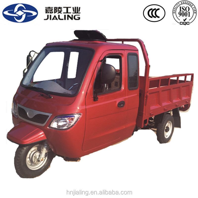 Brushless enclosed adult cargo motor tricycle