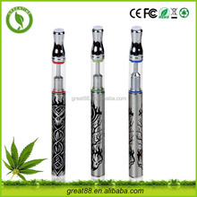 USA popular high end disposable e cigarette with glass .5ml cbd oil cartridge