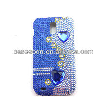 Luxury Case,Diamond Case,Fashion Bling case for Samsung Galaxy S II SGH-T989 snap on Case