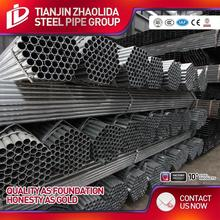 bs 1387 dip welded carbon gi standard length astm a53 bs1387 hot dipped galvanized steel pipe