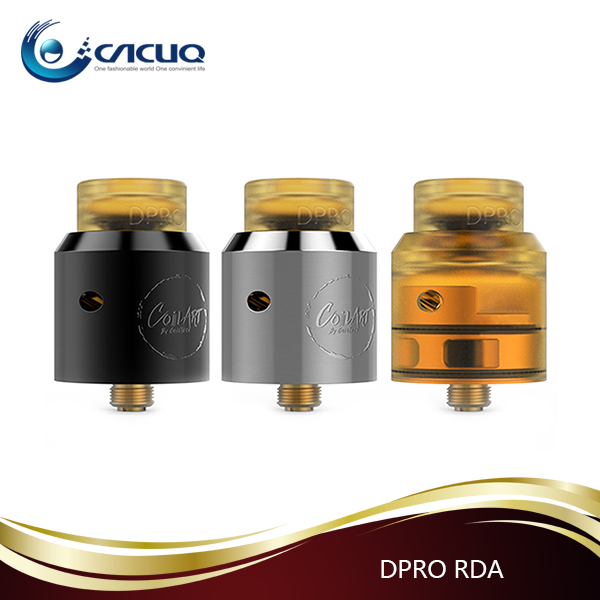Cacuq First batch vape RDA Coilart DPRO RDA tank with huge cloud