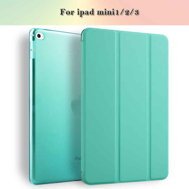 Hot High-grade Premium Flip Back Cover Tablet Case Joy Color For iPad mini2