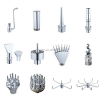 Wholesale fountain equipment stainless or copper water jet fountain nozzles