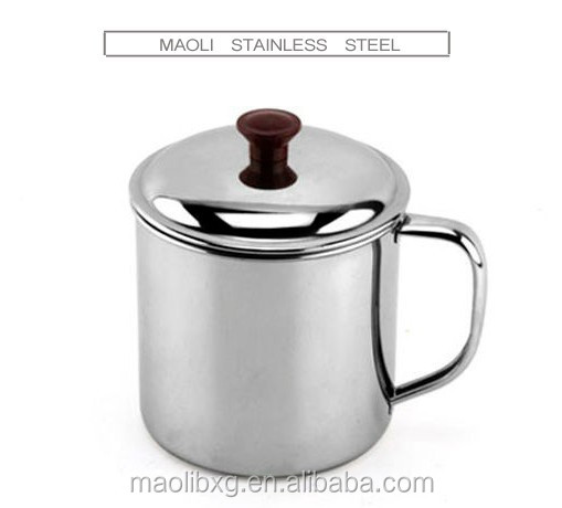 High-Q Stainless Steel Automatic Stirring coffee cup