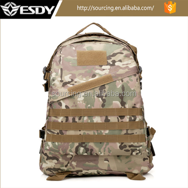 CP Tactical Military Backpack Molle Camouflage Outdoor Sports Bag