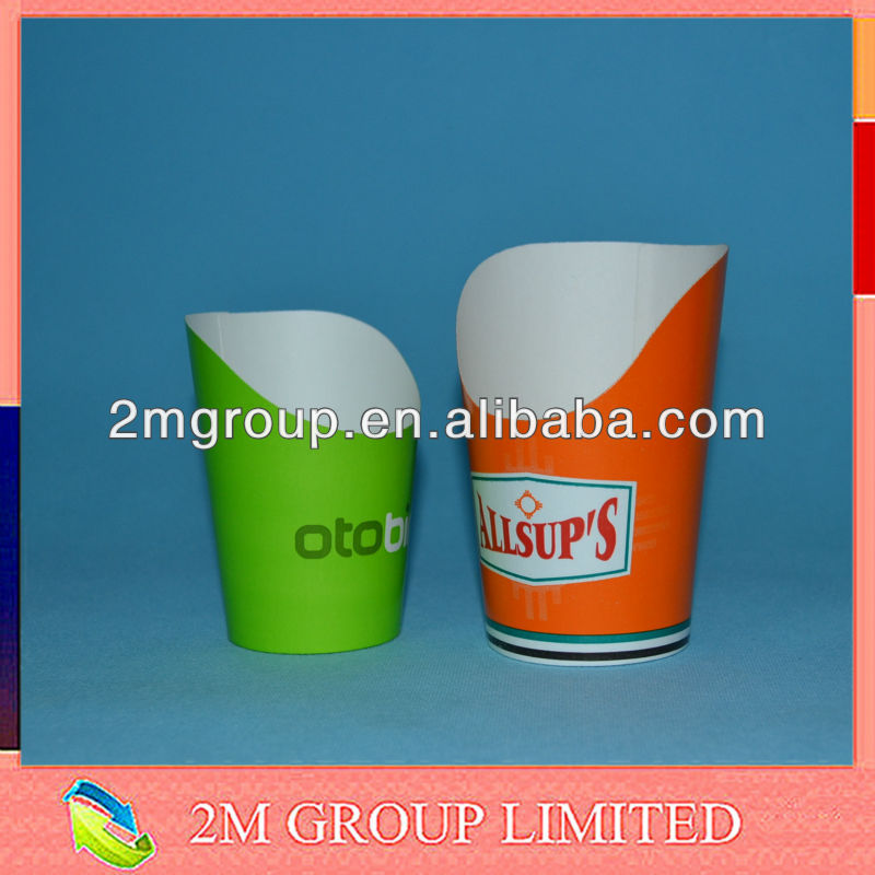 French fries paper cups / chip cup