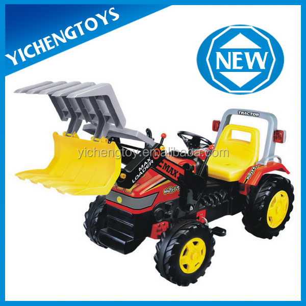 4 wheel bicycle kids ride on toy excavator pedal cars for big kids