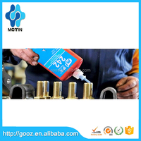 Motin fast curing china supplier 242 thread locking adhesive/thread locking/thread locking glue compound