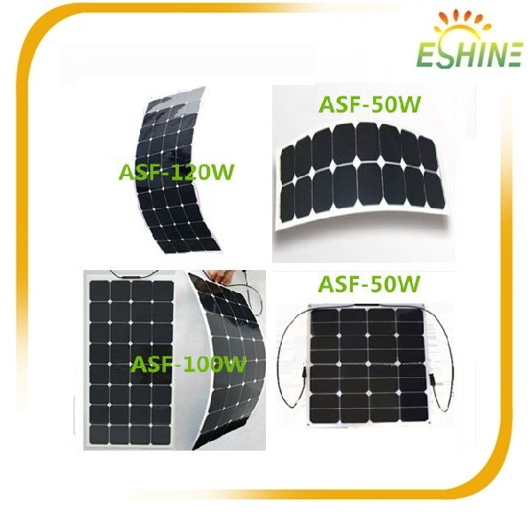Customized portable sunpower solar panel kit 100w flexible foldable solar panel