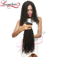 Charming Wave French Curl Mongolian Afro Kinky Curly Human Hair