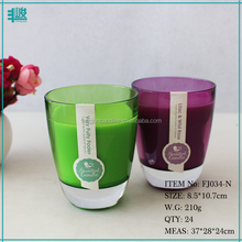 FengJun essential oil scented cotton lead free pure wick candle valentine candle