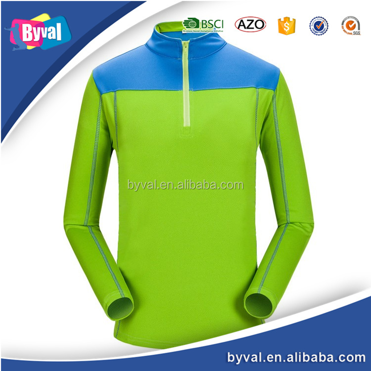 New 2017 Apparel New Product Mens Precision Running Half Zip Long Sleeve Shirt